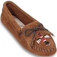 Suede Thunderbird Beaded Softsole Minnetonka Moccasin Womens Shoes