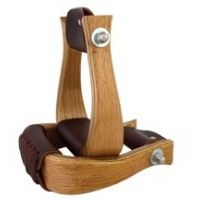 Aime Imports Wood Bell Stirrup 172156