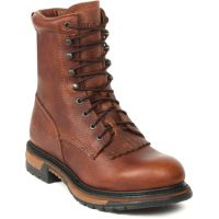 2723 Original Ride Waterproof Western Lacer Rocky Mens Work Boots