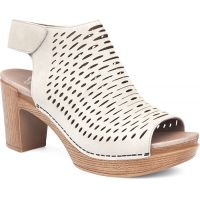 Dansko Danae Oyster Milled Nubuck Leather Womens Sandals 3110-611400