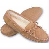 3501 Suede Hardsole Minnetonka Moccasin Womens Slippers