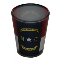 State Of North Carolina Flag Shot Glass 354780