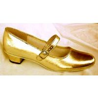 3869 Gold Jenny 1-in Heel Womens Square Dance Shoes