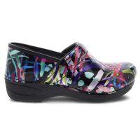 Dansko XP 2.0 Multi Brushstroke Patent Womens Comfort Shoes 3950-160202