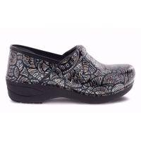 Dansko XP 2.0 Fossilized Patent Womens Comfort Slip Resistant Slip On Shoes 3950-950202