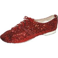 400BAR  Glitter Jazz Shoe with Elk Leather Soles