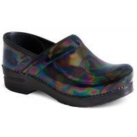 Dansko Professional Petrol Patent Nursing Clog Womens Shoes 406-110202