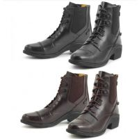 469585 Ovation Synergy Laced Ladies' Paddock Boot with Zip Back