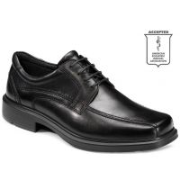Ecco Helsinki Bicycle Toe Tie Black Leather Ecco Mens Dress Shoes