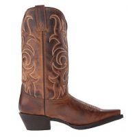 51114 DIANNA Ladies Brown Laredo Snip Toe Western Boots