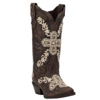 Dan Post Laredo Cross My Heart Womens Leather Boots 52174