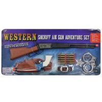 Parris Manufacturing Company Children's Western Sheriff Air Dart Gun Adventure Set 4504C