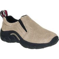 Merrell Jungle Moc Taupe Suede Kids Casual 60501JGLMOC