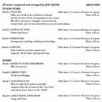 RR6050 PRE-BALLET MUSIC FOR CLASS