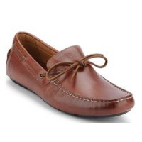 GH Bass Brown Mens Wyatt Driving Loafers 70-73042