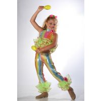 7629 CHA-CHA Dance Recital Costumes