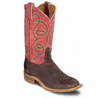 Tony Lama Pink Adina Womens Broad Square Toe Western Boots 7921L