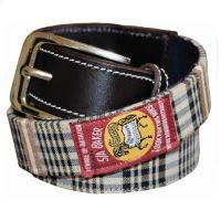 9611-210 Women's Baker Classic Plaid English Riding Belt