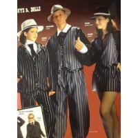 9908 Guys and Dolls Halter Vest RECITAL COSTUMES AD