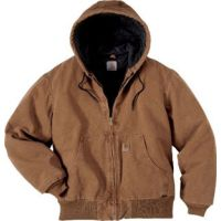 J130 Carhartt Active Jacket/Quilted Flannel Lined Carhartt Mens Coats