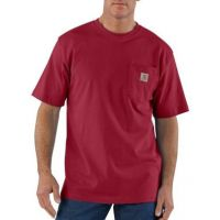 K87INR Independence Red Workwear Pocket T-Shirt Carhartt Mens Shirts