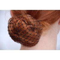 A-1000 Net Bun Cover With Beads