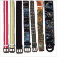 A-128 Stripe Ribbon Belt