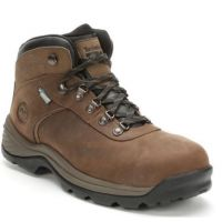 Timberland Pro Brown Flume Mens Steel Toe Waterproof Work Boots A1Q8V