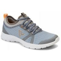 Vionic Grey Blue Alma Womens Comfort Sneaker ALMA