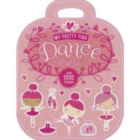 CJ Merchantile My Pretty Pink Dance Purse Book with 1000+ Stickers B-2097