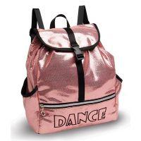 Danshuz Pink Shine Bright Dance Backpack B453