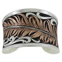Montana Silversmith Hopes Feather Bracelet BC3914RG