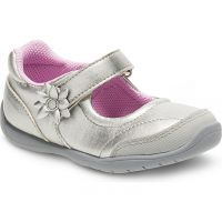 Stride Rite Marien Mary Jane Silver Toddler BG55250AC