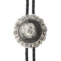BOL106 Western SCALLOP Men's Andwest Bolo Ties