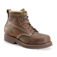 Carolina Brown Assembly Lo Mens Domestic Steel Toe Work Boots CA7511