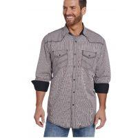 140835d1a0a Cowboy Up Contrast Cuff Mens Long Sleeve Snap Western Shirt CB70803
