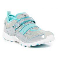 Stride Rite M2P Felicia Silver/Turq Girls Sneaker CG56768