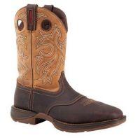 Durango Rebel Steel Toe Waterproof Brown Mens Work Boots DB019
