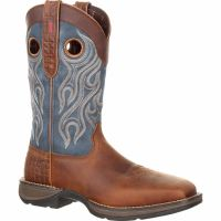 Durango Rebel Composite Square Toe Pull-on Mens Western Work Boots DDB0134