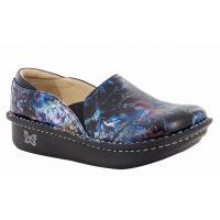 Alegria Black/Blue Multi Vortex Womens Comfort Shoes DEB-148