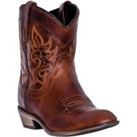 Dan Post Dingo Brown Willie Womens Round Toe Western Boots DI865 **ONLINE ONLY**