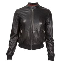 Durango Black Leather Company Womens Wildcat Moto Jacket DLC0041