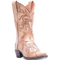Dan Post Bone Nora Womens Snip Toe Western Boots DP3733