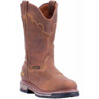 Dan Post Tan Journeyman Steel Toe Mens Work Boots DP69512