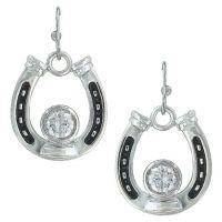 Montana Silversmith Horseshoe Treasure Earrings ER3208