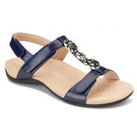 Vionic Navy Lizard Farra Womens Comfort Sandals FARRA
