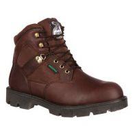 G106 Brown Homeland 6inch Waterproof Georgia Mens Work Boots