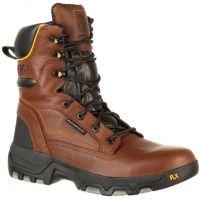 Georgia 8inch Flexpoint Waterproof Brown Mens Work Boots GB00169