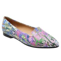 T1707-908 Monet Multi Harlowe Womens Trotter Dress Shoes