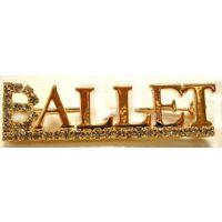 J-79 Gold Ballet Pin
